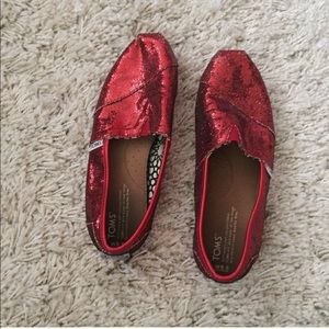 Open to Offers. Ruby Red Sparkly atoms.